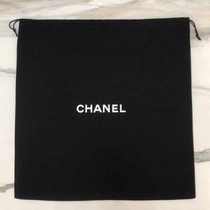 6d42def2d3470a Authentic Chanel XL Drawstring Storage Dust Bag